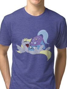 Tickling Trixie Tri-blend T-Shirt