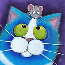 Blueberry and Wee Mousey by Lisa Marie Robinson