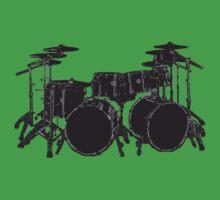 Drum Kit One Piece - Short Sleeve