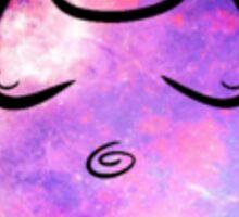 Buddha Galaxy Trippy Sticker
