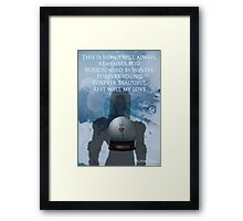 Gotham Rogues Victor Fries Framed Print