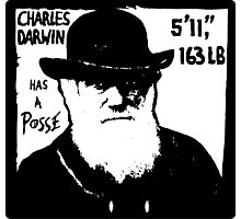 Charles Darwin Has A Posse Photographic Print