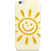 Baby feet with sun iPhone Case/Skin