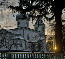 Old Wooden Church 2 by fine