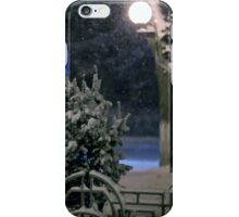 Winter Bench 4 iPhone Case/Skin