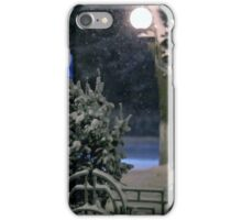 Winter Bench 4 iPhone Case/Skin