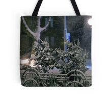 Winter Bench 4 Tote Bag