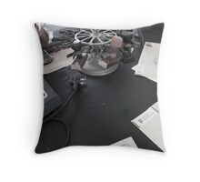 the post office Throw Pillow