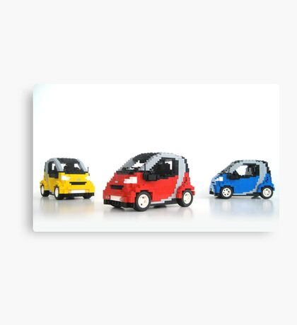 Smart For Two Canvas Print