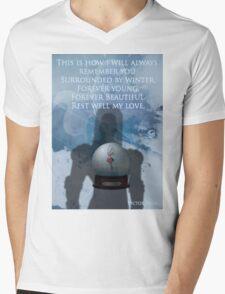 Gotham Rogues Victor Fries Mens V-Neck T-Shirt