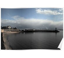 Hartlepools Pier and Lighthouse Poster