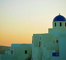Santorini by Nelson  Sosa