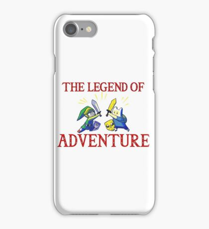 The Legend of Adventure  iPhone Case/Skin