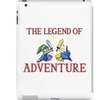 The Legend of Adventure  iPad Case/Skin