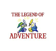 The Legend of Adventure  Photographic Print
