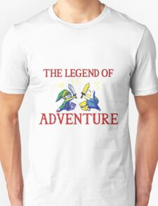 The Legend of Adventure  T-Shirt