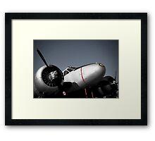 Art Deco Airplane Framed Print