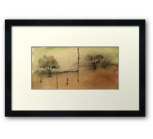 the water table Framed Print