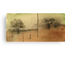 the water table Canvas Print