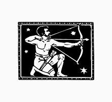 Sagitarrius the Archer woodcut Unisex T-Shirt