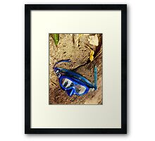 Vacation's Over Framed Print