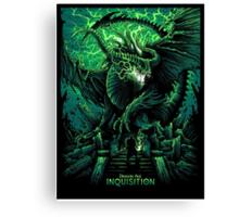 Dragon Age: Inquisition Canvas Print
