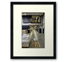 factory perspective Framed Print