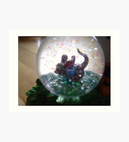 Krystal Ball Disney Art Print