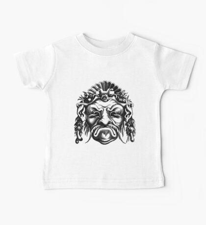 Renaissance Grotesque Face Seashell Man No. 2 Baby Tee