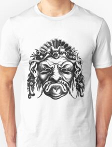 Renaissance Grotesque Face Seashell Man No. 2 Unisex T-Shirt