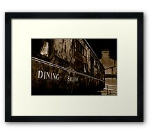 Dining Saloon Car Downpatrick Framed Print