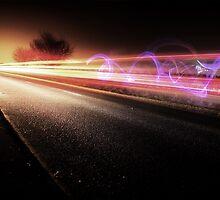 Light Trails 1 by Ben Baldwin-Davies