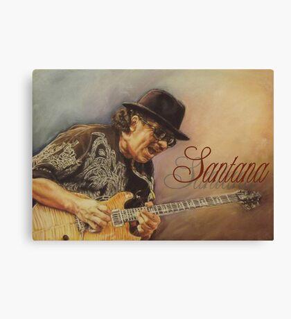 Santana pastel drawing Canvas Print