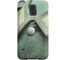 button on a soldier's uniform Samsung Galaxy Case/Skin