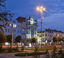 Soborna street Vinnitsa by fine