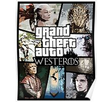 Grand Theft Auto - Westeros Poster