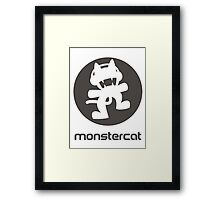Monstercat Framed Print