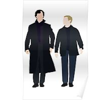 Sherlock and John Poster
