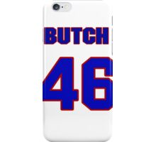 National baseball player Butch Davis jersey 46 iPhone Case/Skin