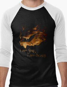 I am fire, I am Death Men's Baseball ¾ T-Shirt