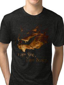 I am fire, I am Death Tri-blend T-Shirt