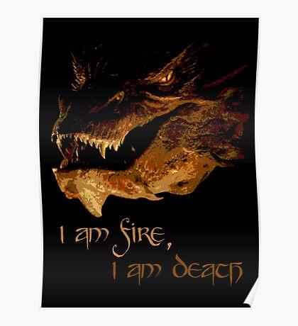 I am fire, I am Death Poster