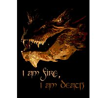 I am fire, I am Death Photographic Print