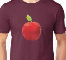 Geometric Red Apple Unisex T-Shirt