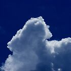 Cloud on a summer day by Ben Kelly