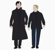 Sherlock and John by nosheetsherlock