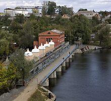 Sabarov Dam Vinnitsa by fine
