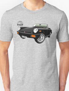MG Midget 1500 US spec black T-Shirt