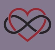 Infinity heart, never ending love Kids Clothes