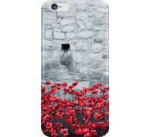 Tower Poppies 01B iPhone Case/Skin